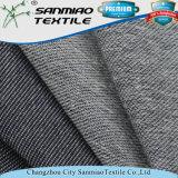 Estiramiento popular del algodón del azul de añil de la materia textil que hace punto la tela hecha punto del dril de algodón para la ropa
