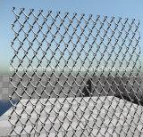 Sailinの重く電流を通されたチェーン・リンクの塀