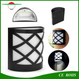 6개의 LED 야드 빛 경로 야드를 위한 에너지 절약 태양 등화관제 옥외 정원 담 램프