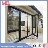 広州の外部アルミニウム開き窓のドアの価格