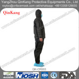 Funktions-Kleidung, Sicherheits-Abnützung, schützender Overall (Umhüllung u. Hose) für Krankenhaus/Industrie