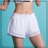 Deportes alta calidad superior la ropa de las mujeres atractivas Pantalones cortos para Running