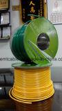 Fuente de nylon de Maily del cable de Thhn de la chaqueta de la aprobación de RoHS del Ce para los condados europeos