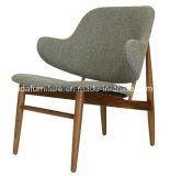 Modernes PU-Leder gepolsterter setzender bewaldeter speisender Stuhl