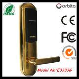 Fechamento esperto eletrônico da porta de acesso do fechamento de porta do hotel RFID de Orbita Digital