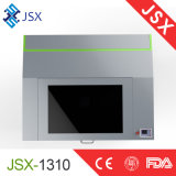 Tagliatrice di scultura di cuoio del laser del CO2 dell'incisione del mini tessuto Jsx-5030