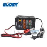 Suoer 삼상 비용을 부과 최빈값 (A01-0612A)를 가진 지적인 지능적인 빠른 충전기 6V 12V 자동적인 배터리 충전기