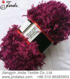 Filato operato Jd9697 della pelliccia di falsificazione della piuma del poliestere