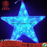 Motiv-Stern-dekoratives Licht LED-3D für Feiertags-Partei-Dekoration