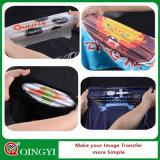 Etiqueta engomada de la prensa del calor de la alta calidad de Qingyi para la ropa