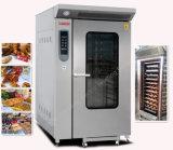 12 Tellersegment-Handelsgas-Konvektion-Ofen für Backen u. kochen Gerät