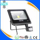 Nuevo 5W a la luz del sensor de movimiento de la luz de inundación de 50W LED PIR