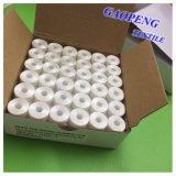 Bobine 100% Polyester Blanc Bobine à tête pré-plaquée pour couture