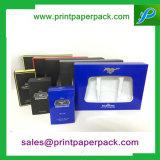 Contenitore di imballaggio cosmetico impaccante su ordinazione del regalo del documento del profumo dell'accenditore di lusso superiore della casella