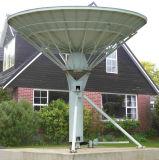 antenne de satellite de Rx de station terrestre de 6.0m seulement