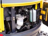Escavatore zero 1700kg della coda con il motore della Perkins e la benna 0.04m3