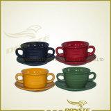 Dinnerware штейнгута Crokery поливы 2016 цветов керамический