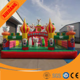 Los niños de colores comerciales Jugar Castillo inflable para la venta