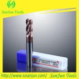 laminatoio di estremità piano della fresa dell'estremità del carburo solido di 10mm