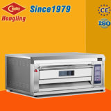 Hot-Sale / Luxurious Single Deck Double Tray Commercial Gas Forno para assar