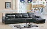 Sofà d'angolo di cuoio di Geniune della mobilia di lusso del salone (HX-F071)