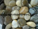 混合されたカラーの外のフロアーリングのための磨かれた小石のモザイク・タイル