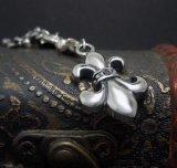 Pingente de íris Vintage Punk Men's Necklace Retro Silver