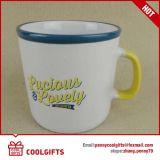 Grande tazza di caffè di ceramica con il marchio su ordinazione