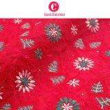 Ultimo merletto svizzero del voile del tessuto di cotone di disegno
