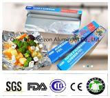 Rodillo durable del papel de aluminio del hogar de la aleación 8011-0 0.011*305m m