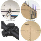 Do relevo longo do olho do espaço livre do diamante do Taurus 3-18X50 do sistema ótico do vetor espaço de caça tático do atirador furtivo de Miliatry, atirador furtivo de Riflescope com o primeiro Reticle do plano focal Mpx1