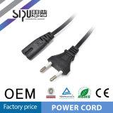 Câble normal BRITANNIQUE de cordon d'alimentation AC de QG de Sipu avec le fusible