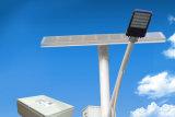 la ISO de la garantía de 5 años certifica la luz de calle solar LED con poste durable