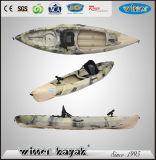 Adulto + niño se siente en la cima de recreo de bajura / Kayak Pesca Menor