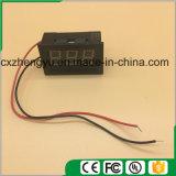"V27D 0.56 "" 2개의 철사 (색깔을%s 가진 LED DC 3.0-30.0V 디지털 표시 장치 전압계: 파랑)"