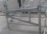 Cuplockの足場システムコンポーネントの側面ブラケットはかっこに入れるシステムを飛ぶ