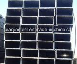 Carbono laminado en caliente de acero cuadrado de tubería con la norma ASTM
