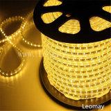 Indicatore luminoso di striscia di alta tensione LED di SMD3528 60LEDs con CE&RoHS