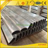 Profil en aluminium d'extrusion de 6063 Customzied pour la balustrade ou les escaliers de balcon