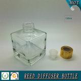 квадратная прозрачная стеклянная камышовая бутылка отражетеля 150ml