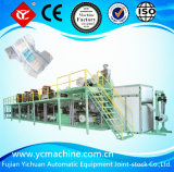 Fábrica de máquina elástico Lleno-Serva del pañal del bebé del oído (YNK500-SV)