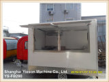Véhicule mobile de nourriture de la vente Ys-Fb390 de camion chaud d'aliments de préparation rapide à vendre