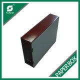 Caja de embalaje de papel durable impresa aduana