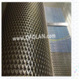 Plaque augmentée de galvanoplastie de maille augmentée par titane