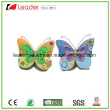 잔디밭 훈장을%s 반짝임 날개를 가진 정원 Polyresin 나비 작은 조상