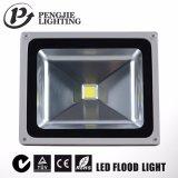 Cubierta de la iluminación de la inundación de COB/SMD IP65 20W LED con CE/RoHS