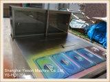 Ys-HD120A Carrinhos De Alimentos Móveis De Carne Quente De Aço Inoxidável