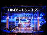 Pantalla de visualización de interior ligera de LED del alquiler del alto contraste P5