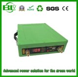 bloco alternativo da bateria de lítio da potência do UPS 100ah com relação da descarga da C.C. 5V/12V
