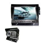"""Câmera do Rearview do carro com câmera alternativa e monitor de 9 """" LCD para o apoio, reverso"""